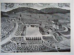 Zlín roku 1746